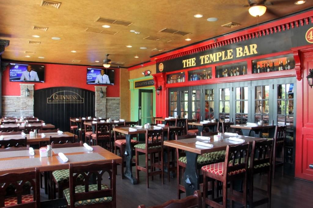 Tir na nÓg Cherry Hill Irish pub seating