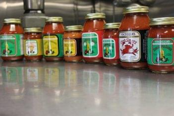 Visceglia Deli Williamstown NJ tomato sauce jars