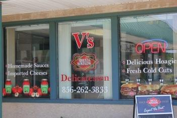 Visceglia Deli Williamstown NJ window signs