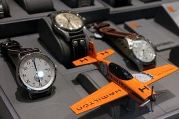 Watch World Philadelphia PA orange airplane timepiece watches