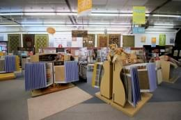 Burlington Carpet One Barrington NJ showroom displays