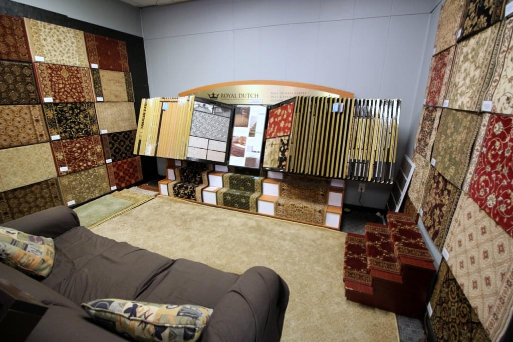 Burlington Carpet One Barrington NJ Showroom Samples