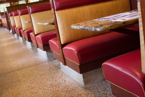 Diamond Restaurant Hainesport NJ booth seating