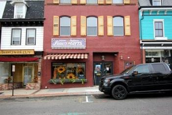 Horse Feathers Floral Design Mt Holly NJ store front