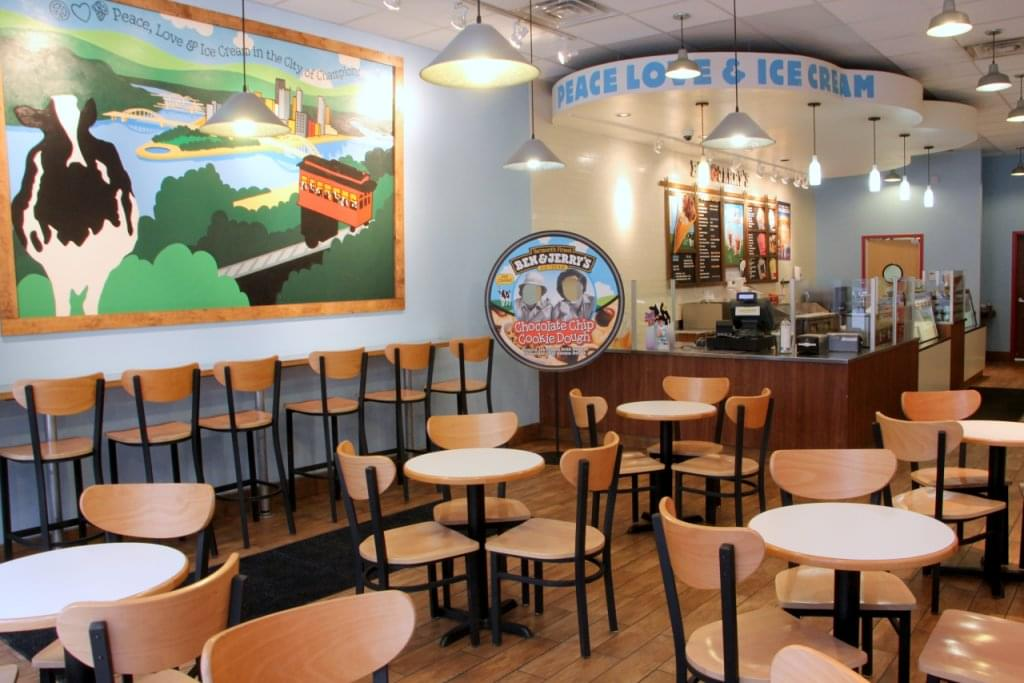 Ben & Jerry's, Pittsburgh PA – See-Inside Ice-Cream Parlor