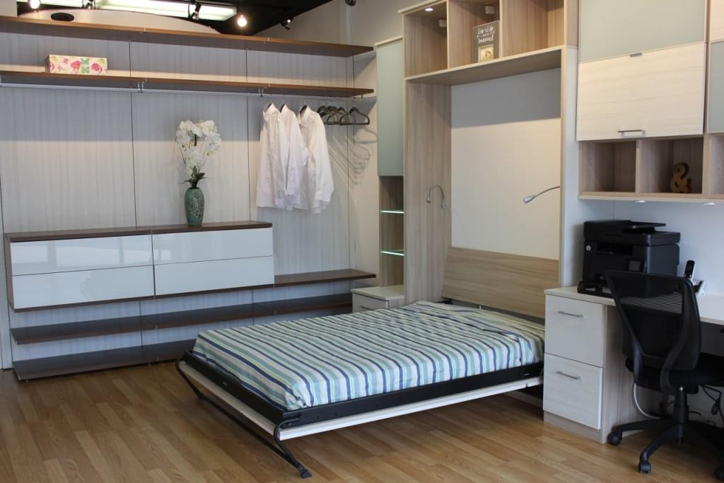 California Closets Northfield NJ Murphey Bed Pulled Out