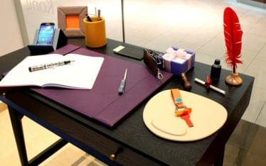 Campo Marzio Pen Leather Accessories San Juan Puerto Rico stationary store desk