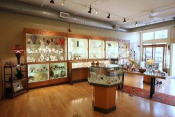 Fire & Ice Fells Point Baltimore MD jewelry store display cases