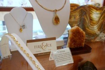 Fire & Ice Oxon Hill MD jewelry citrine necklaces bracelet