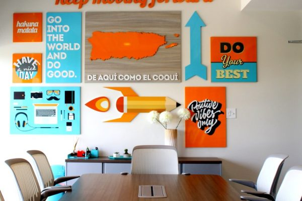 Forward Learning Educational Consultant Guaynabo Puerto Rico wall signs