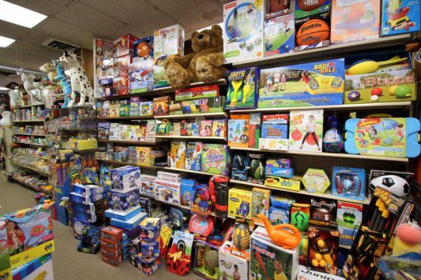 Happy Hippo Toys Toy Store Moorestown NJ shelf of toys