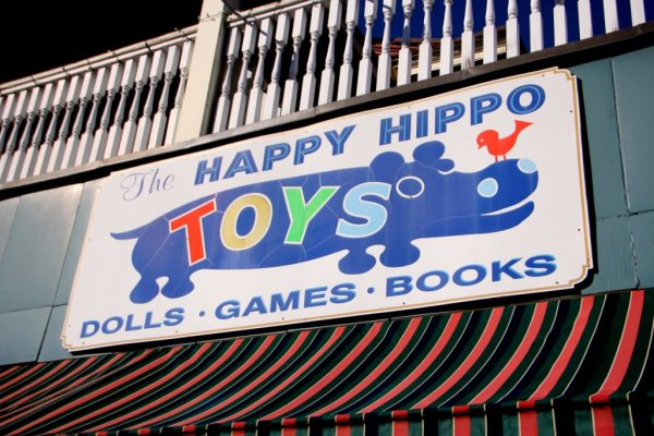 Happy Hippo Toys Toy Store Moorestown NJ sign