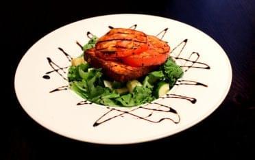 Patria Cuisine Puerto Rican Restaurant San Juan Puerto Rico tomato cucumber salad