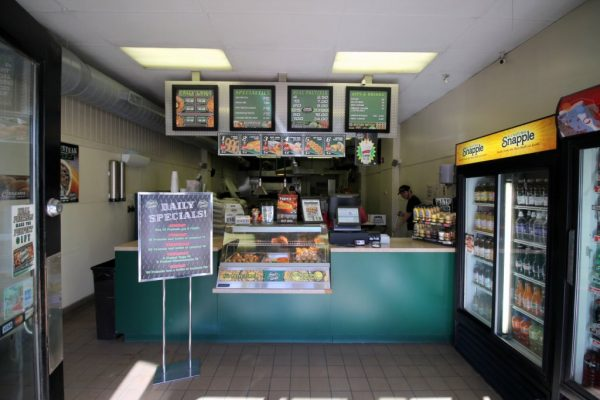Philly Pretzel Factory in Moorestown, NJ counter menu