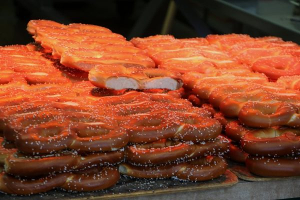 Philly Pretzel Factory in Moorestown, NJ soft baked pretzels