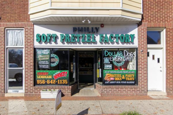 Philly Pretzel Factory in Moorestown, NJ store front