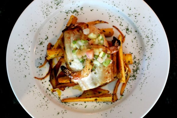Restaurante Moriviví Cagaus, Puerto Rico Caribbean Restaurant shrimp pasta dish
