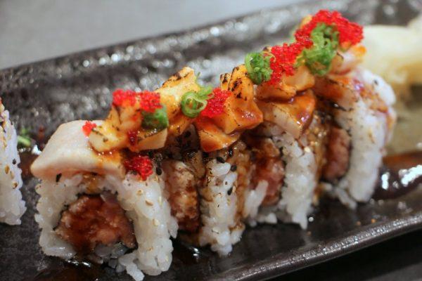 Zushi Dozo Japanese Restaurant Cherry Hill NJ sushi roll trifecta tuna roll