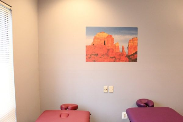 Awake Wellness Center Chiropractor Massage Therapist Cherry Hill NJ office massage table heads