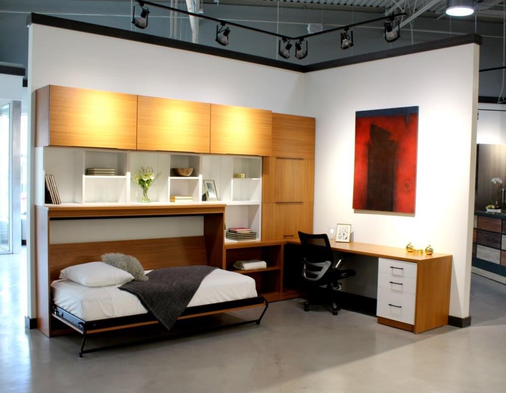 California Closets Bayamon Puerto murphy bed desk