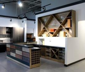 California Closets Bayamon Puerto wine cabinet