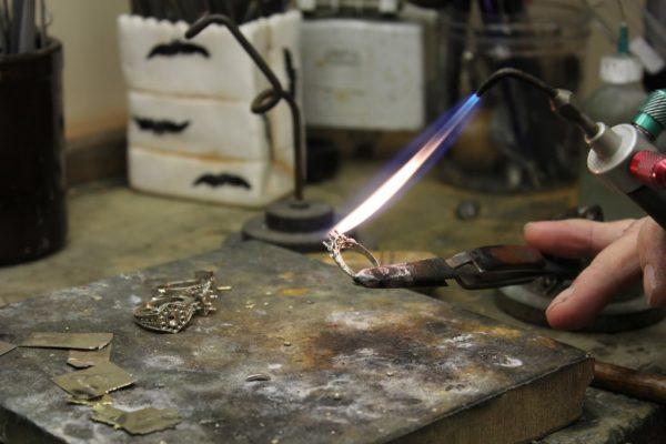 Haddonfield Jewelers in Haddonfield, NJ. blow torch ring