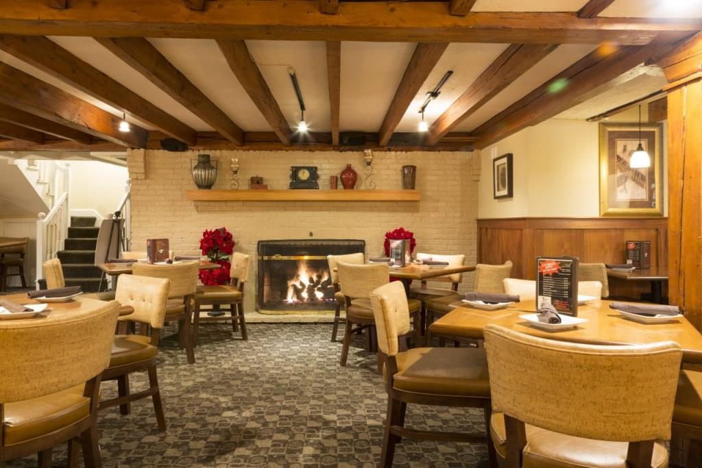 Bradford Tavern Rowley MA fireplace