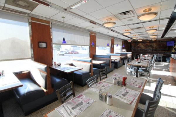 Club Diner Bellmawr NJ booth seating
