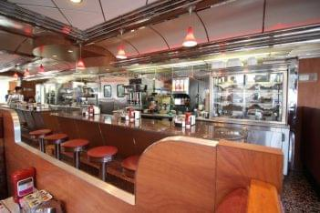 Club Diner Bellmawr NJ counter seating