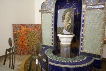 Distinctive Decor & More Collingswood, NJ fountain mosaic