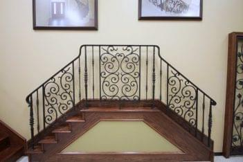 House of Forgings Houston TX iron staircase