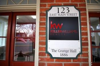 Keller Williams Realty Moorestown NJ front entrance sign
