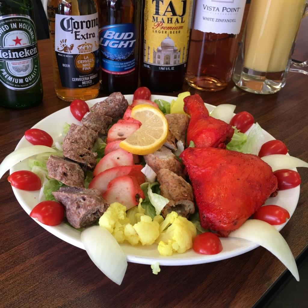 Punjab Indian Restaurant Kissimmee FL chicken and beer