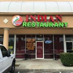 Punjab Indian Restaurant Kissimmee FL store front
