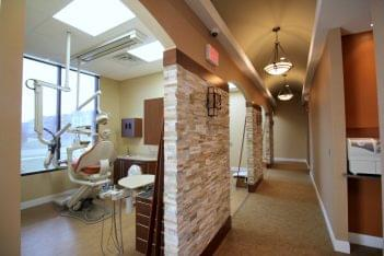 iSmile Dental Arts, PC Williamstown, NJ Dentist chair hallway