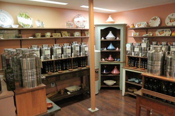 A Taste of Olive Haddonfield NJ Health Food Store jugs