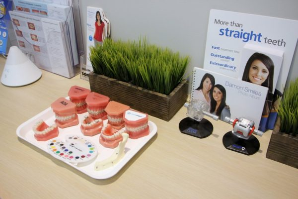 All Star Family Orthodontics Old Bridge NJ braces display