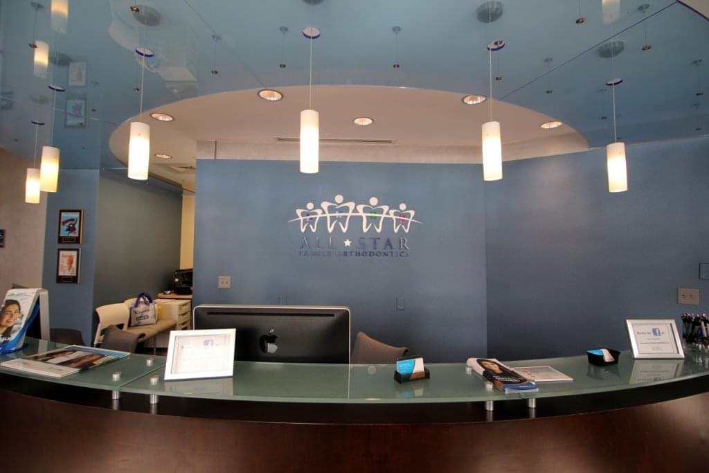All Star Family Orthodontics Old Bridge NJ front desk