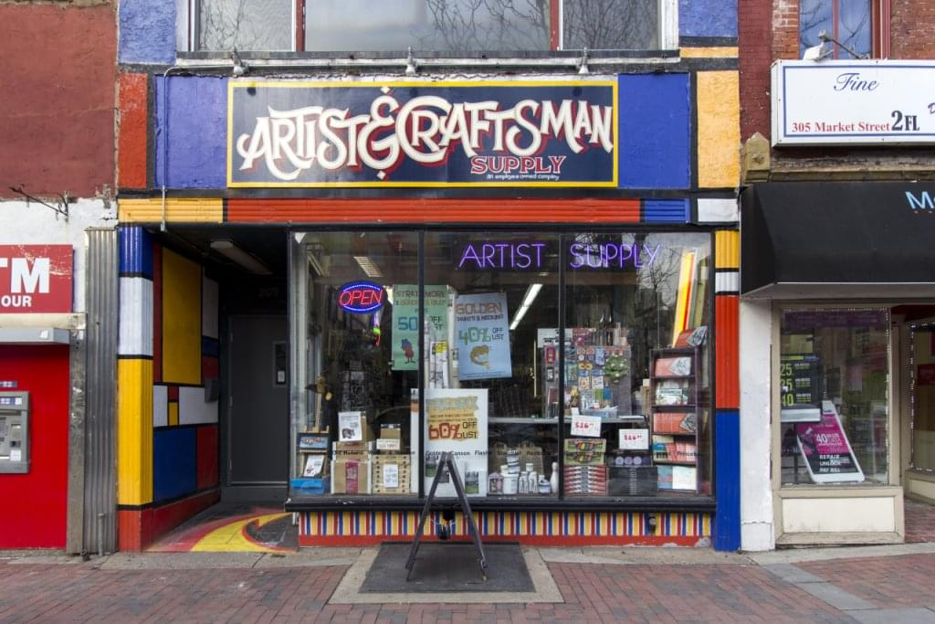 Artist & Craftsman Supply, Philadelphia PA – See-Inside Art Supply Store