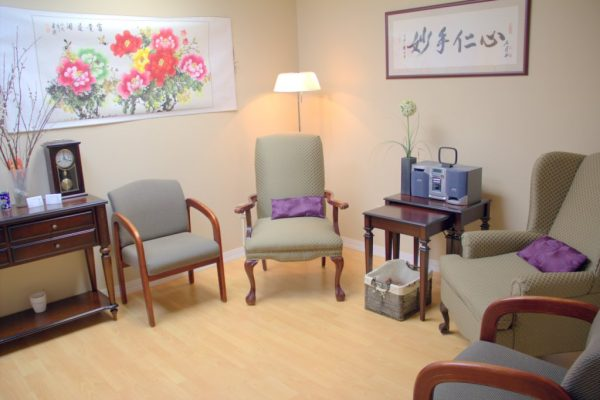 Bayshore Acupuncture and Traditional Medicine Holmdel NJ waiting room