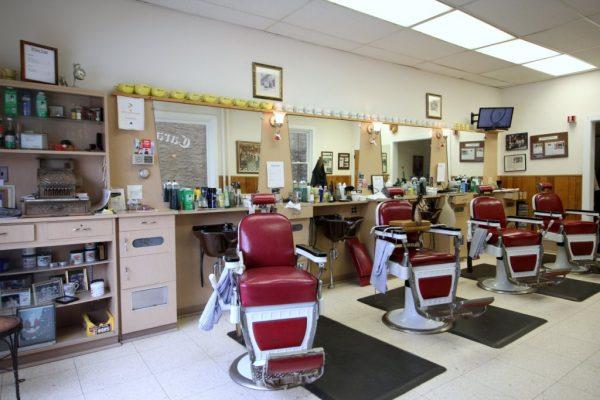 Caravelli Brothers Haddonfield NJ Barber Shop chairs