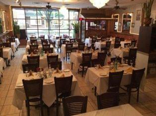 Casa Bella Trattoria Haddonfield, NJ Italian Restaurant tables