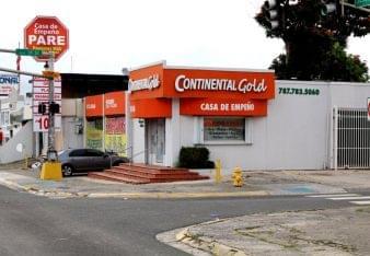 Continental Gold Pawn Shop San Juan Puerto Rico
