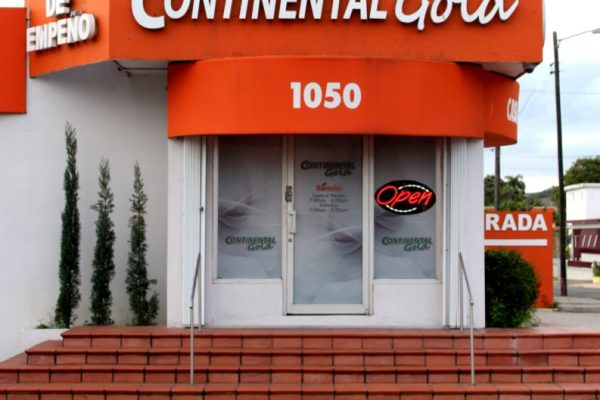 Continental Gold Pawn Shop San Juan Puerto Rico front entrance