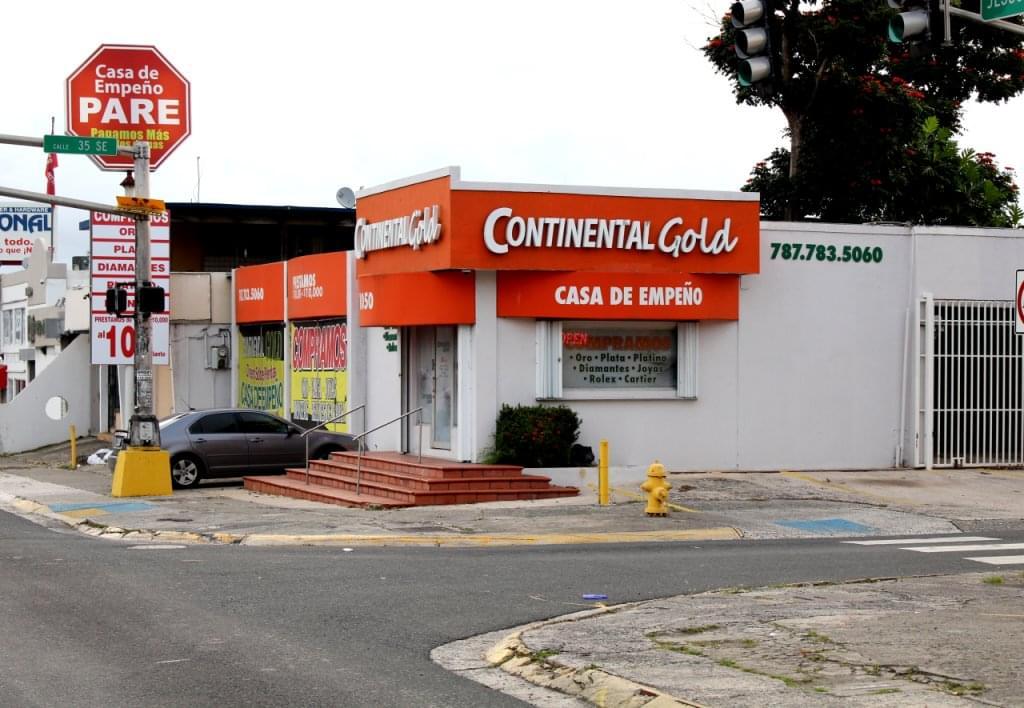 Continental Gold, San Juan Puerto Rico – See-Inside Pawn Shop