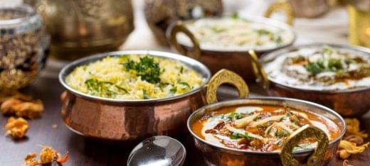 Cross Culture Indian Restaurant Haddonfield NJ pots dishes
