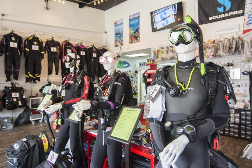 Dive Georgia – See-Inside Dive Shop – Woodstock, GA