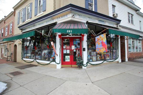 Happy Hippo Toys Haddonfield NJ toy store front