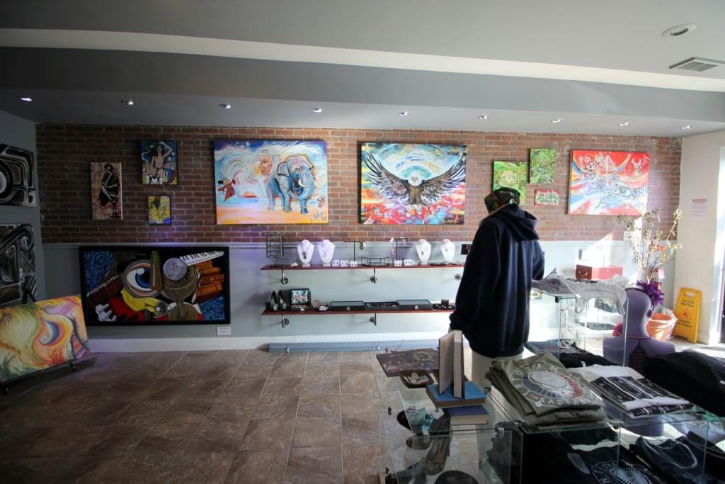 Head Games Philly Glass Art Gallery Philadelphia PA paintings