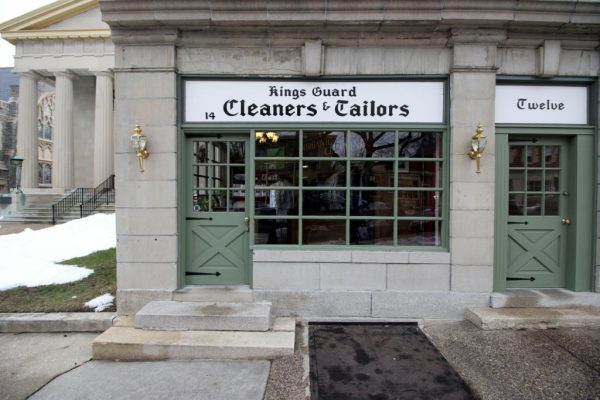 Kings Guard Cleaners dry cleaning Haddonfield NJ store front